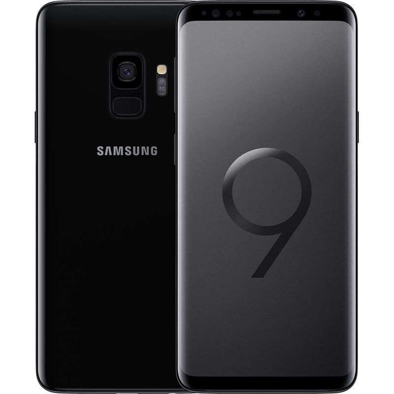 samsung smartphone galaxy s9 64gb midnight black 4gb ram g960f